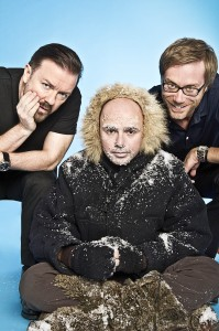 An Idiot Abroad 2. Ricky Gervais, Karl Pilkington, Stephen Merchant